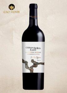 Rượu Vang Château Bells Eaux Languedoc Pezenas Vieilles Vignes
