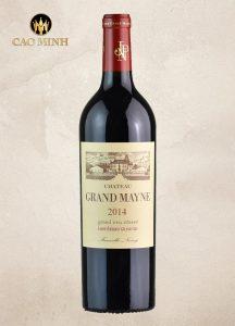 Rượu Vang Pháp Château Grand Mayne 2014