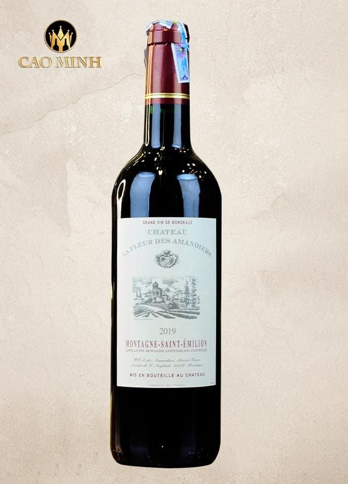 Rượu Vang Pháp Château La Fleur Des Amandiers Montagne-Saint-Émilion
