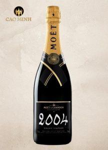 Rượu Vang Pháp Moët Millésime Blanc 2004