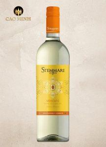 Rượu Vang Ý Stemmari Moscato