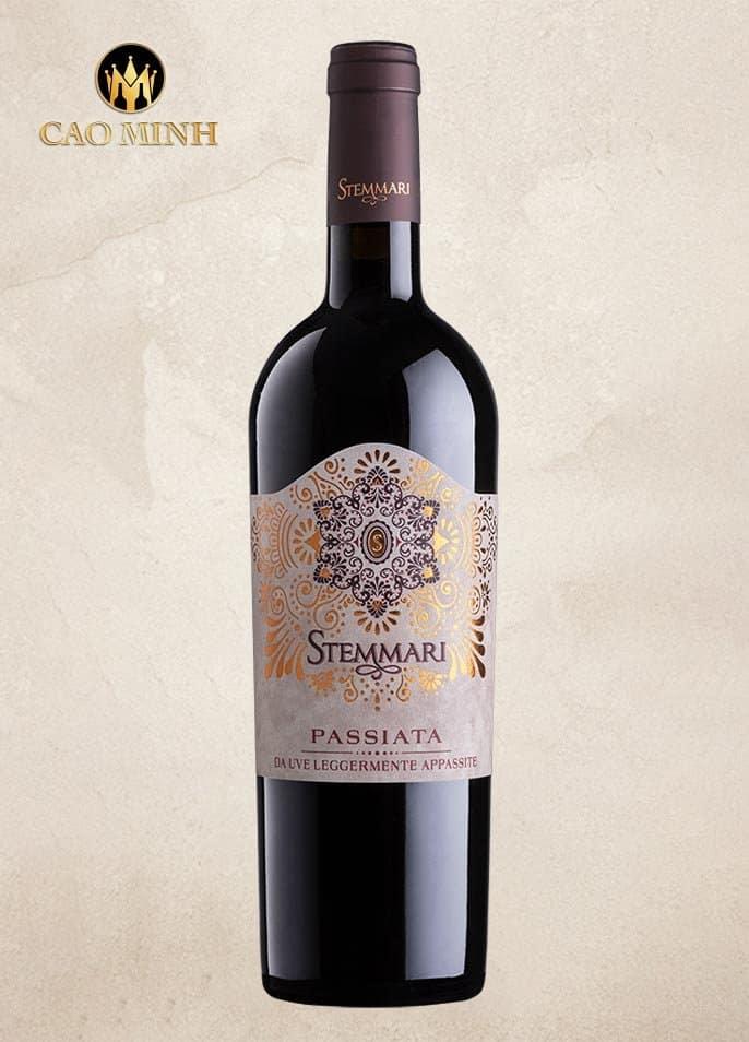 Rượu Vang Ý Stemmari Passiata