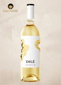 Rượu Vang Ý Dilé Moscato