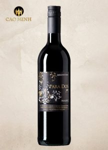 Rượu Vang Argentina Para Dos Malbec