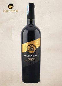 Rượu Vang Ý Paradox Negroamaro Salento 2018
