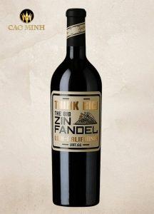 Rượu Vang Mỹ The Big Zinfandel