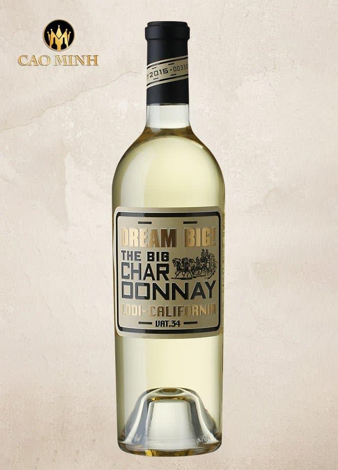 Rượu Vang Mỹ Dream Big Chardonnay