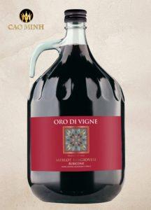 Rượu Vang Ý Oro Di Vigne IGT